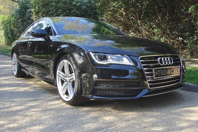 Audi A7 in Bagshot, Surrey