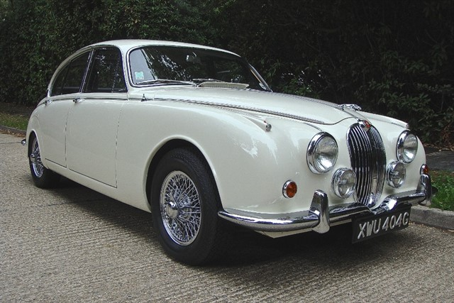 Jaguar Mark II in Bagshot, Surrey