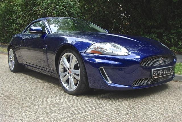 Jaguar XK in Bagshot, Surrey