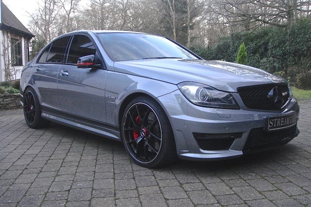 Mercedes C63 in Bagshot, Surrey