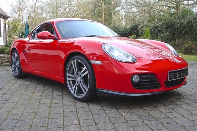 Porsche Cayman in Bagshot, Surrey