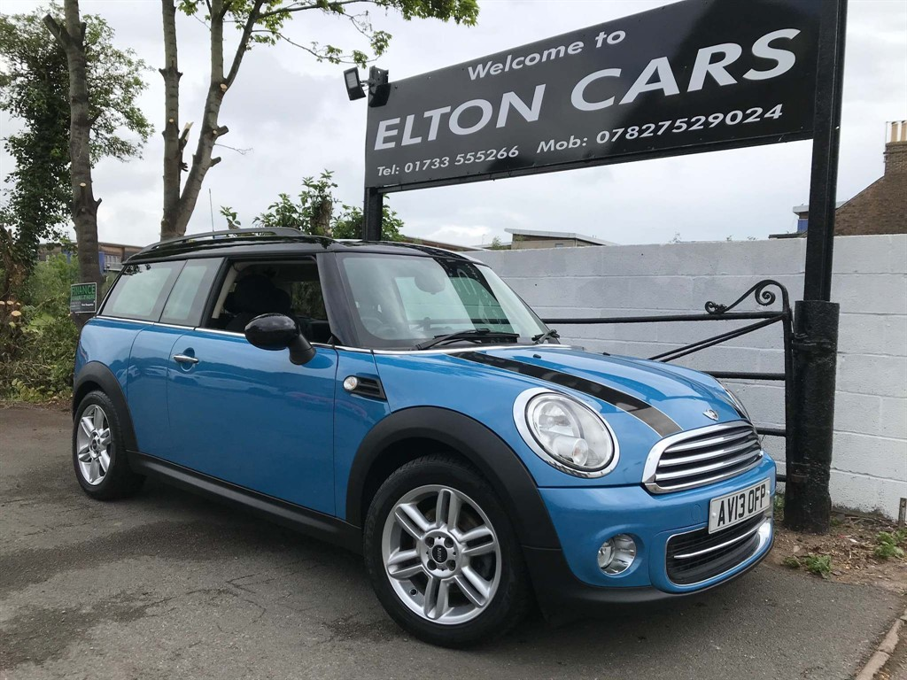 Mini Clubman For Sale In Peterborough Cambridgeshire Elton Cars Ltd