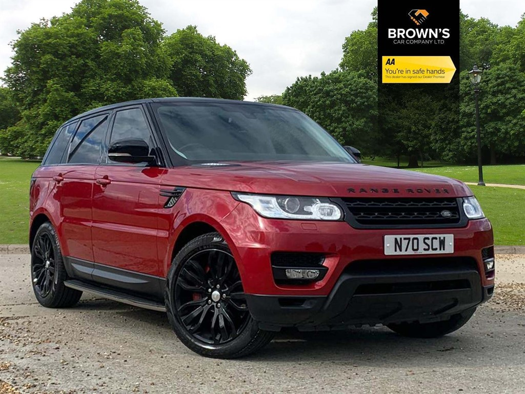 Used Land Rover Range Rover Sport For Sale In Maldon Essex Browns Car Company