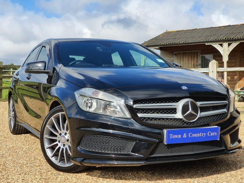 used Mercedes A180 CDI BLUEEFFICIENCY AMG SPORT in rainham-kent