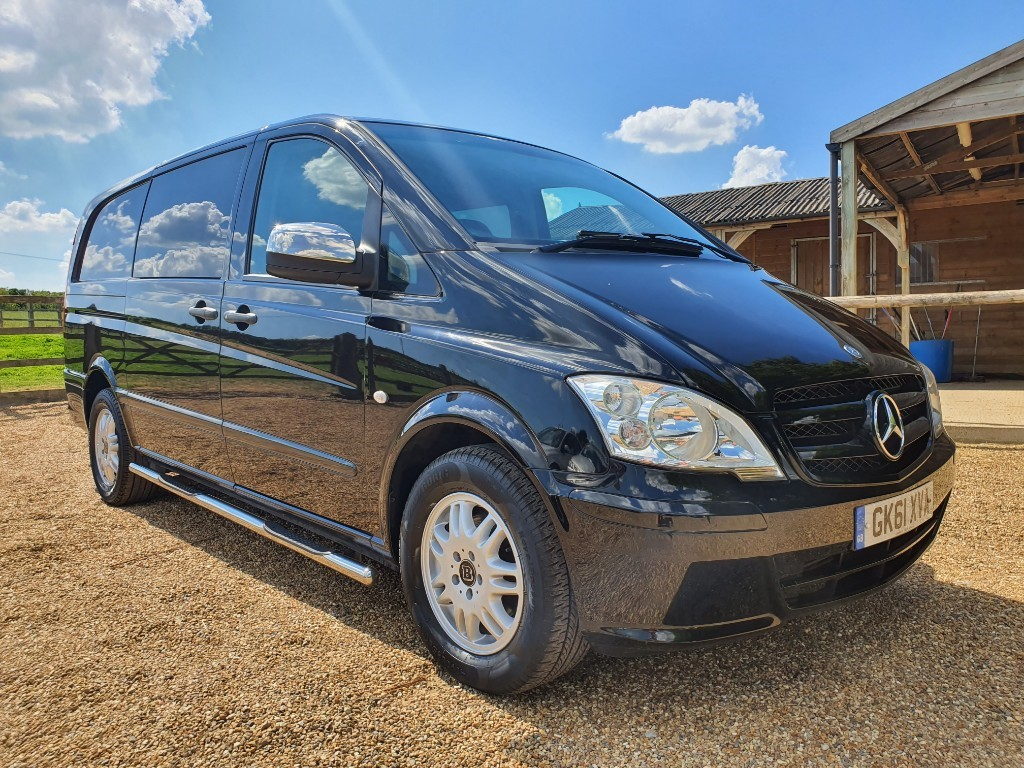used Mercedes Vito 122 CDI DUALINER in rainham-kent