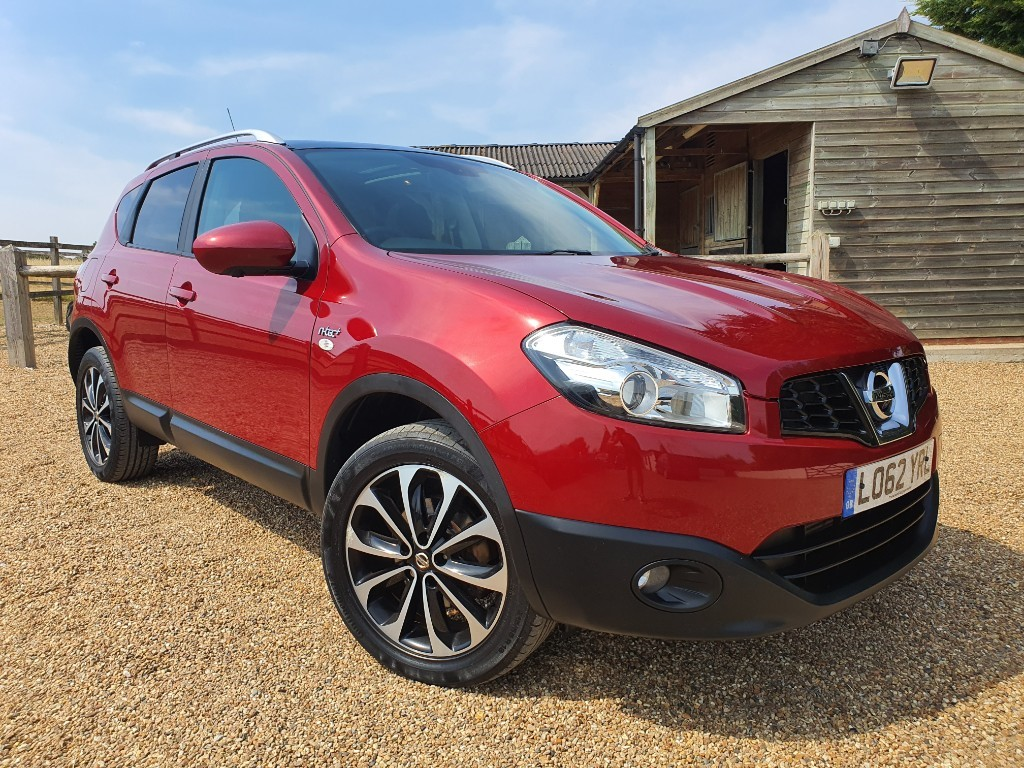 used Nissan Qashqai DCI N-TEC PLUS in rainham-kent
