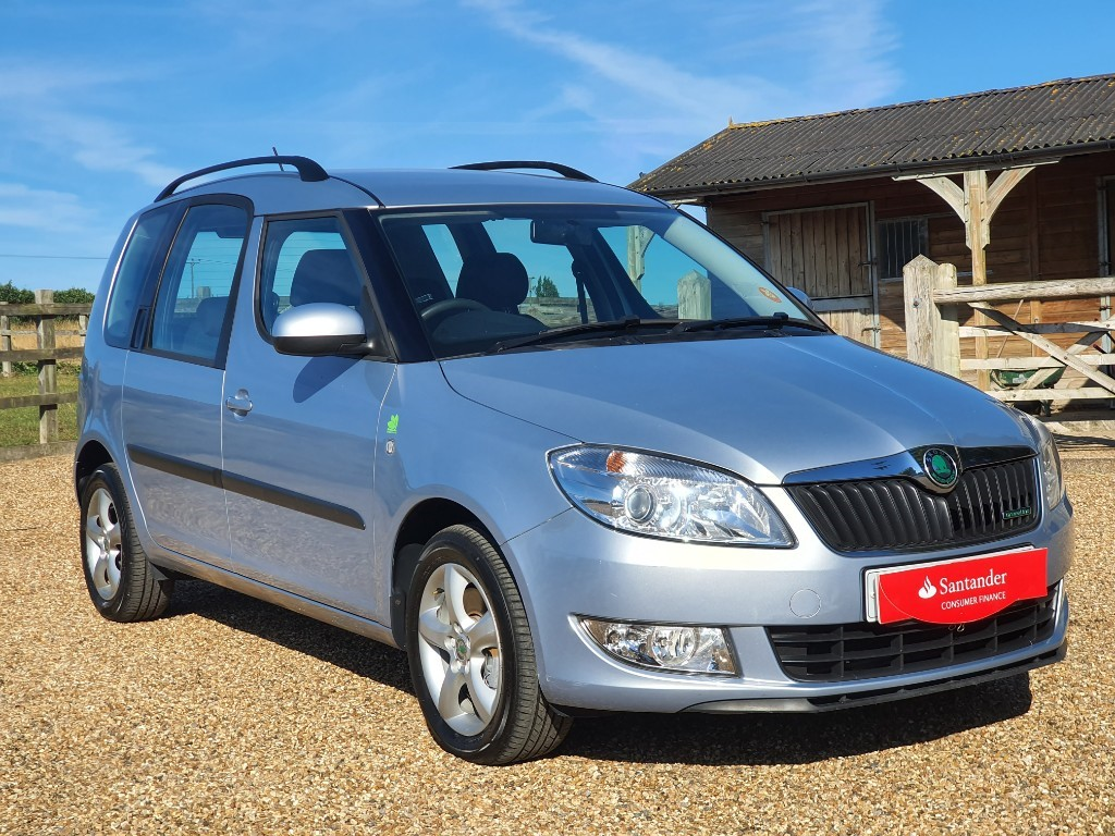 used Skoda Roomster GREENLINE TDI CR in rainham-kent