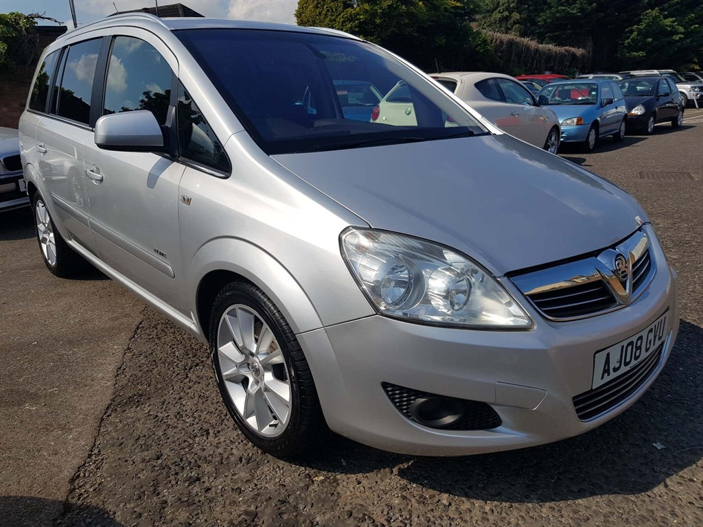 used Vauxhall Zafira CDTi Elite 5dr in rainham-kent