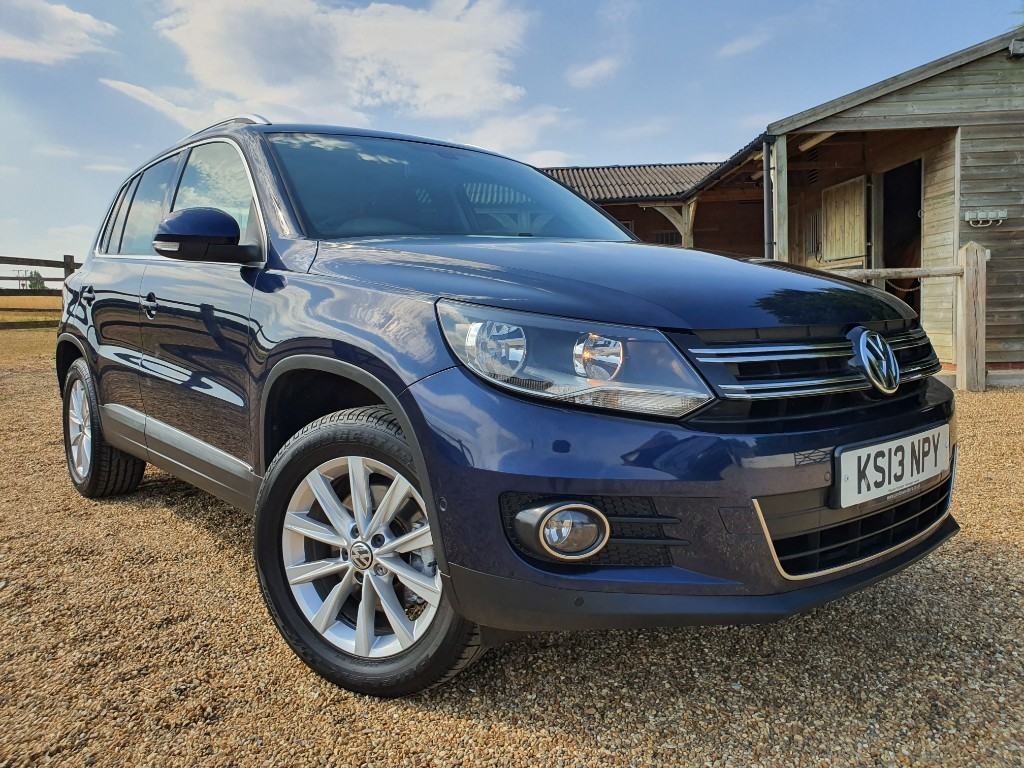 used VW Tiguan SE TDI BLUEMOTION TECHNOLOGY 4MOTION DSG in rainham-kent