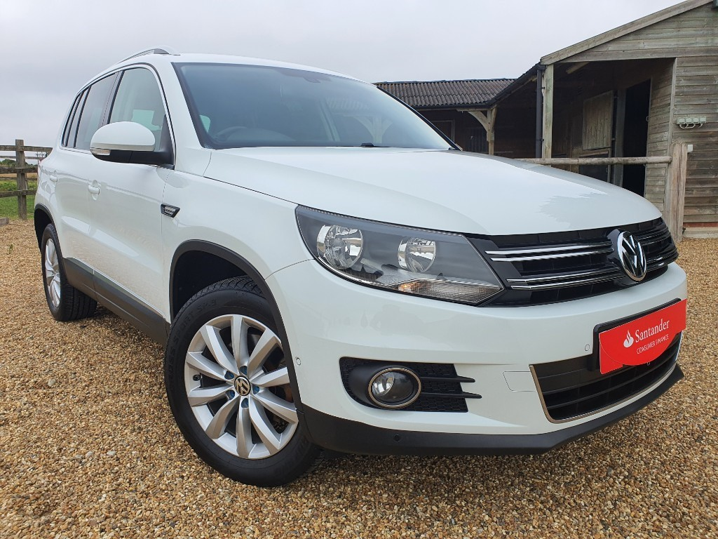 used VW Tiguan MATCH TDI BLUEMOTION TECH 4MOTION DSG in rainham-kent