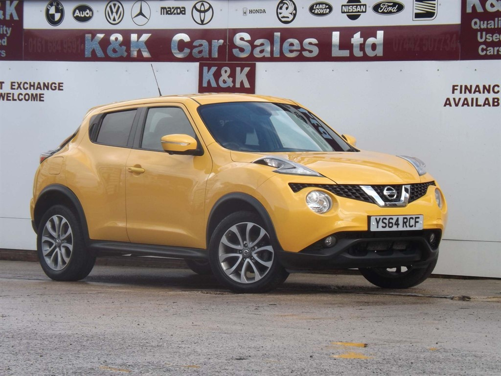 Used Nissan Juke For Sale In Failsworth Greater Manchester K K Car Sales Ltd