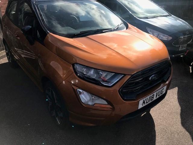 Ford, EcoSport, ST-LINE