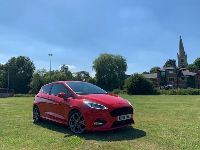 Ford, Fiesta, ST-LINE