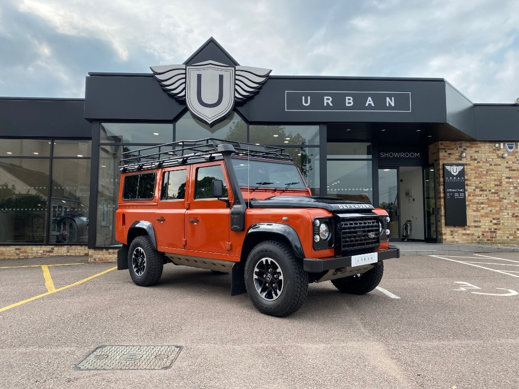 used Land Rover Defender 110 TD ADVENTURE STATION WAGON in milton-keynes-buckinghamshire