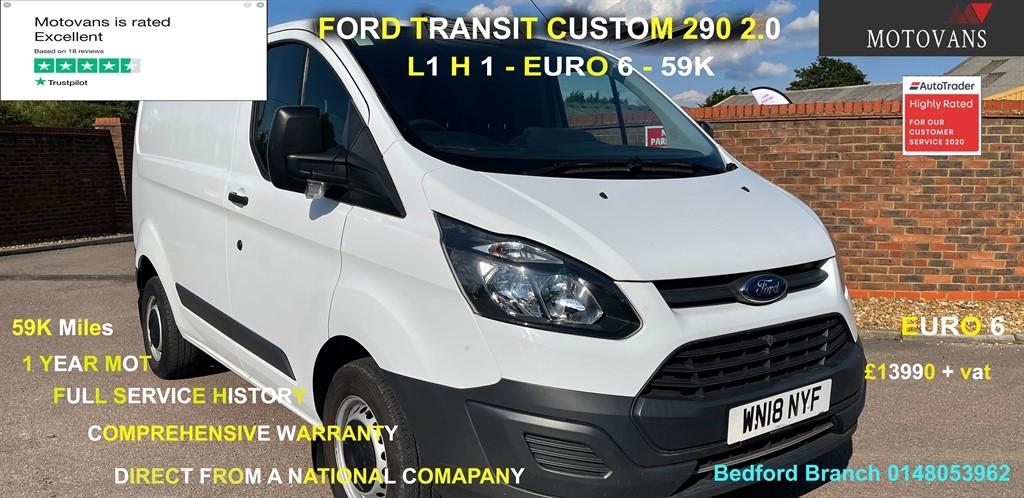used Ford Transit Custom 270 LR P/V in middlesex