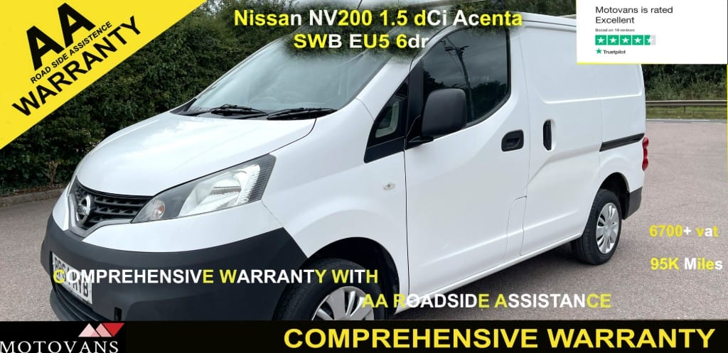 used Nissan NV200 DCI ACENTA in middlesex