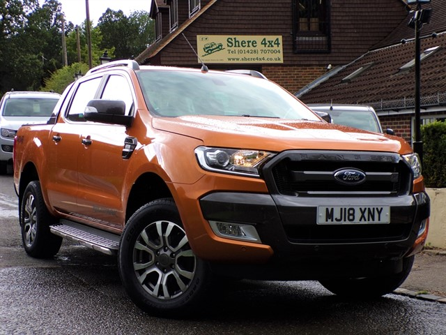used Ford Ranger 3.2 TDCi Wildtrak Automatic - NO VAT TO PAY in surrey-sussex