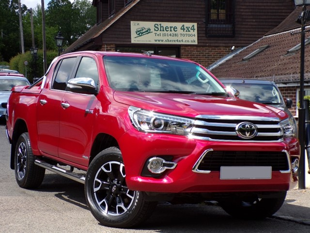 used Toyota Hilux 2.4 D4D Invincible X Doublecab - NO VAT TO PAY in surrey-sussex
