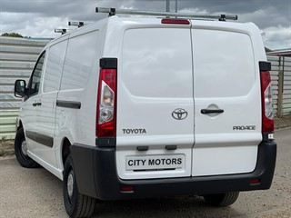 Used Toyota Proace from City Motors