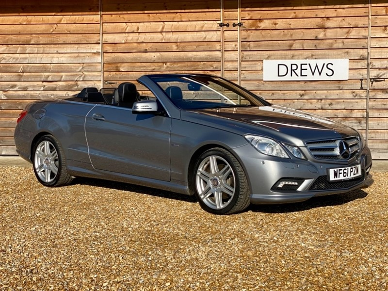 Used Mercedes E250 2.2 CDI AMG SPORT Convertible Just Serviced in Berkshire