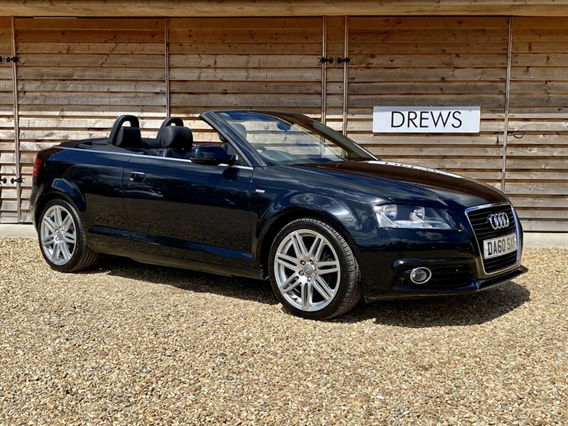 Used Audi A3 2.0 TDI S LINE 140 Convertible in Berkshire