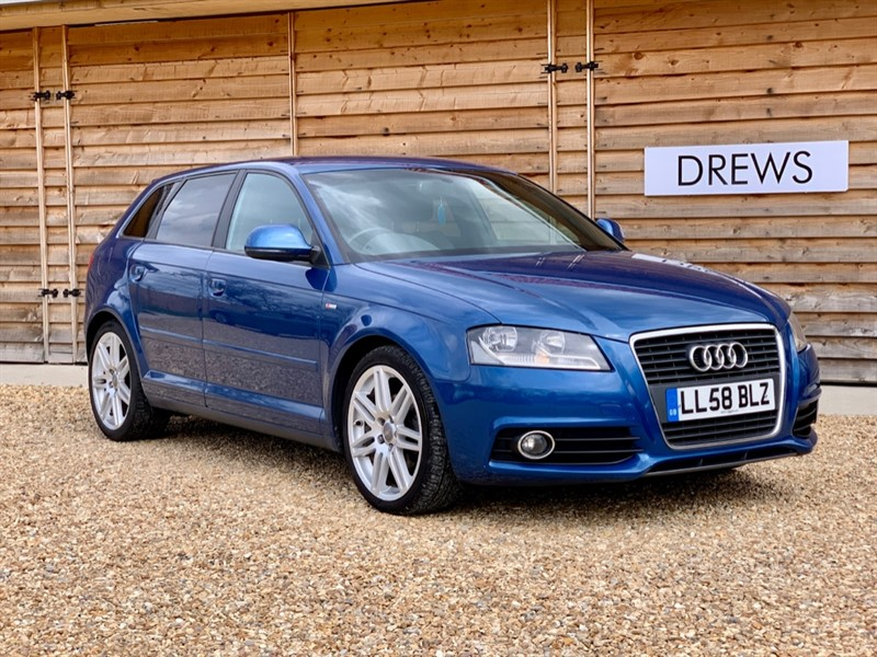 Used Audi A3 1.8 TFSI S LINE Petrol Auto Sat Nav Heated Leather Bose in Berkshire