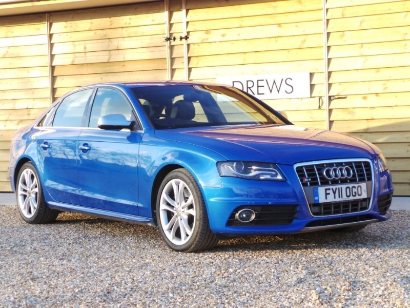 Used Audi A4 S4 V6T QUATTRO Automatic Sprint Blue in Berkshire