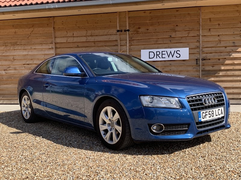 Used Audi A5 TFSI Petrol Black Leather8 Audi Services in Berkshire