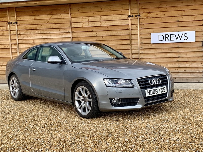 Used Audi A5 2.7 TDI Auto Sat Nav Heated Leather Bang Olufson in Berkshire