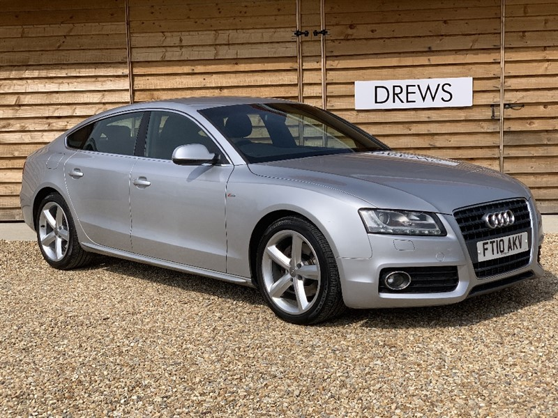 Used Audi A5 SPORTBACK TDI S LINE Sat Nav Heated Leather Cruise Control in Berkshire