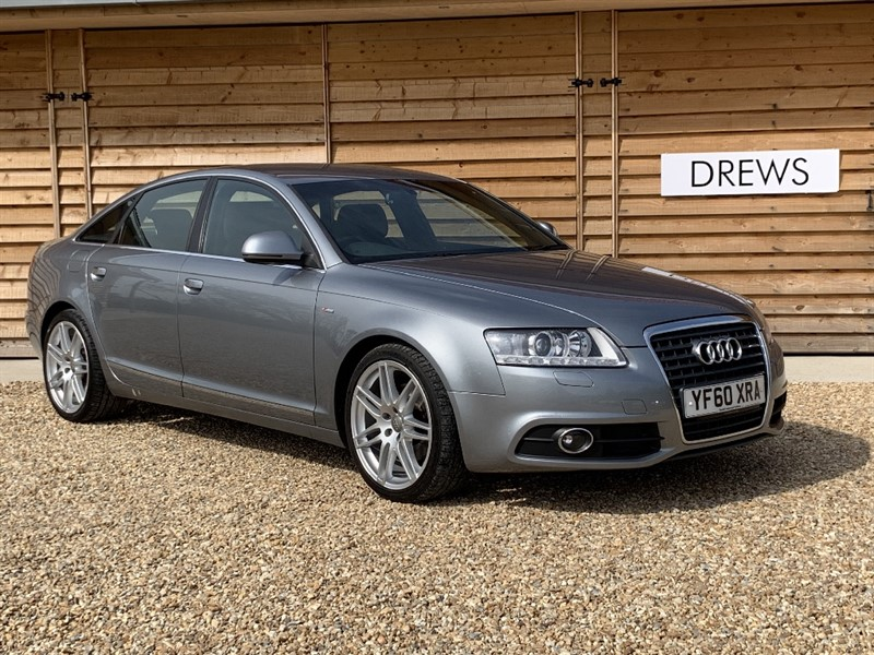 Used Audi A6 TDI S LINE SPECIAL EDITION DVD Rear Entertainment Sat Nav Leather Xenons in Berkshire