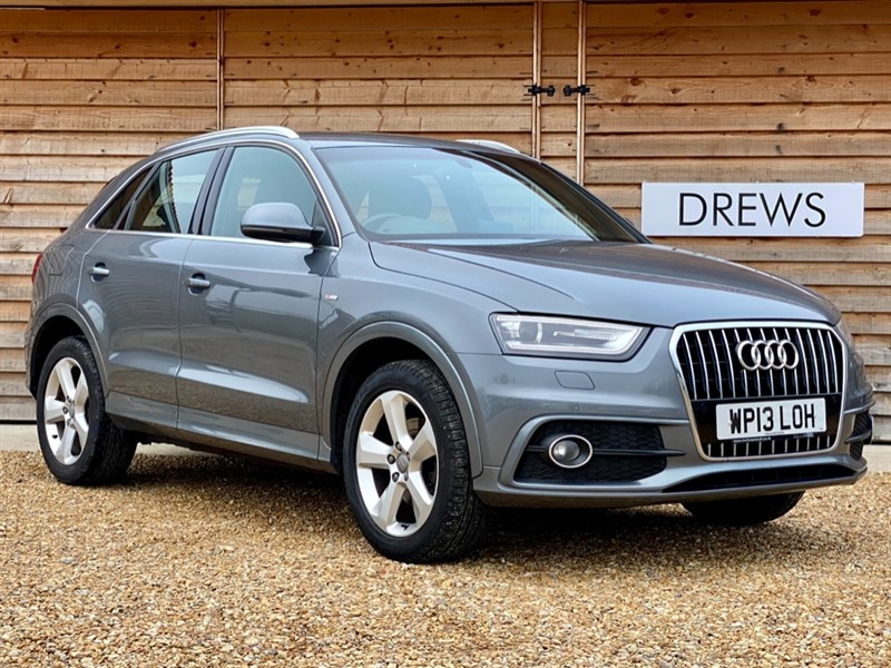 Used Audi Q3 TDI QUATTRO S LINE Sat Nav Just Serviced New MOT in Berkshire