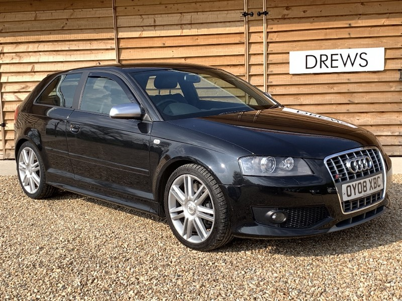 Used Audi S3 TFSI QUATTRO Black Leather FSH Cambelt Replaced in Berkshire