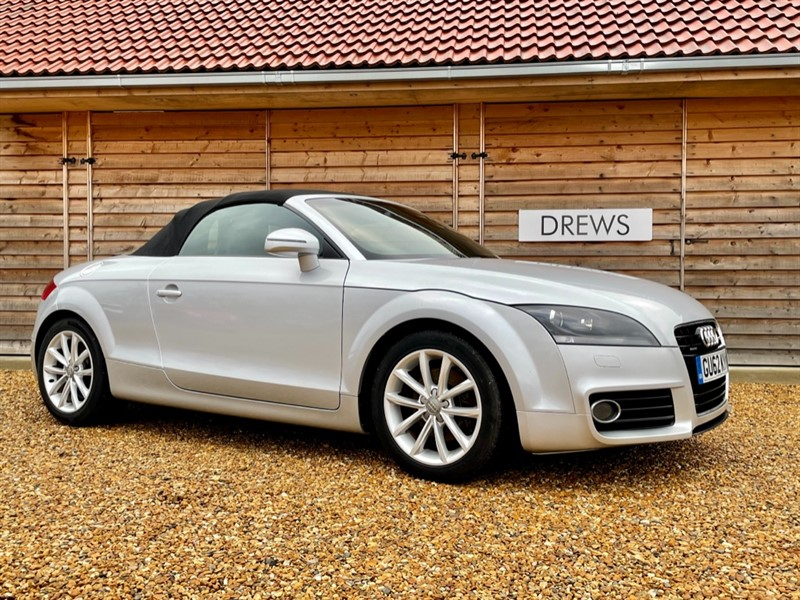 Used Audi TT TDI QUATTRO SPORT One Owner Sat Nav Just Serviced in Berkshire