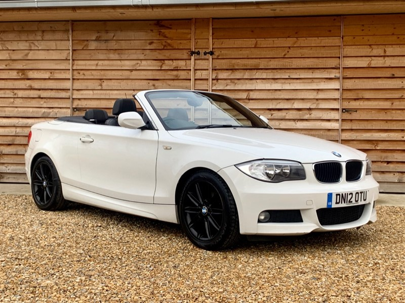 Used BMW 118d M SPORT Convertible Low Tax Just Serviced Sept MOT in Berkshire