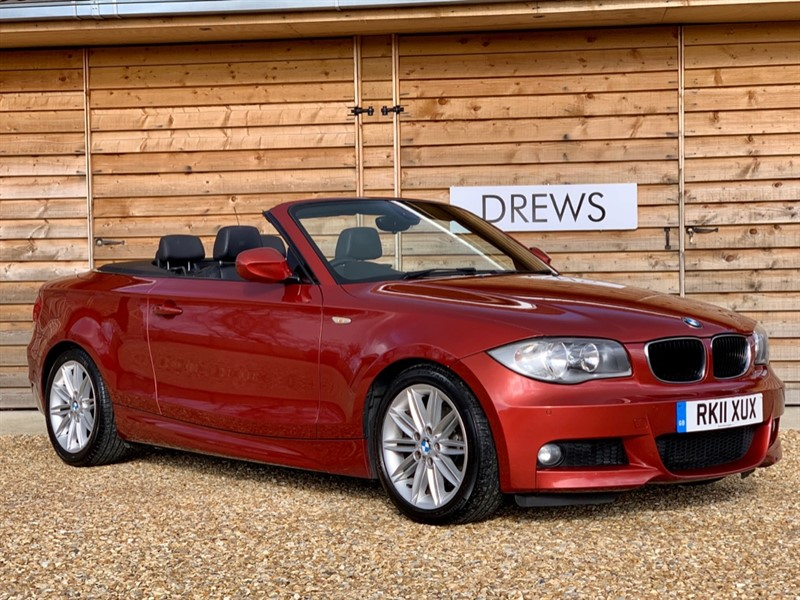 Used BMW 120d 2.0 M SPORT Convertible Auto Just Serviced & New MOT in Berkshire