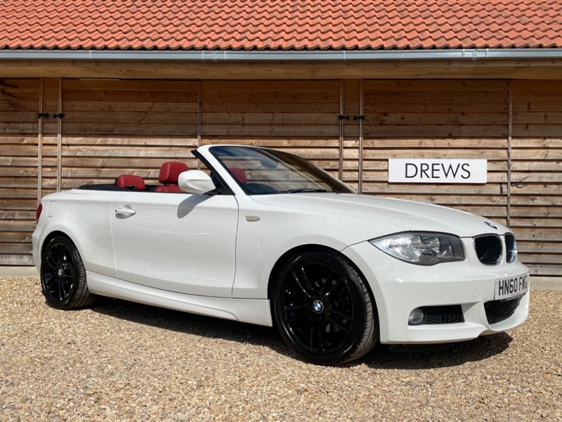 Used BMW 120i M SPORT 2.0 Petrol Automatic Great Combination Red Leather Black Alloys in Berkshire