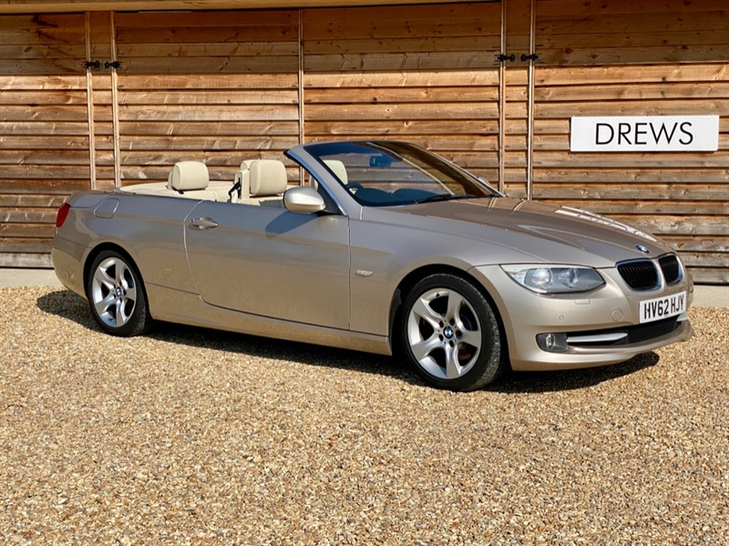 Used BMW 320d 2.0D SE Convertible Auto Full BMW History Massive Spec in Berkshire