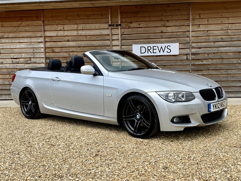 Used BMW 320d 2.0d M SPORT Convertible £4400 Factory Options in Berkshire