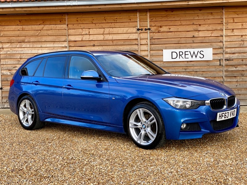 Used BMW 320d XDRIVE 2.0d M SPORT TOURING AUTO Heated Leather Seats in Berkshire