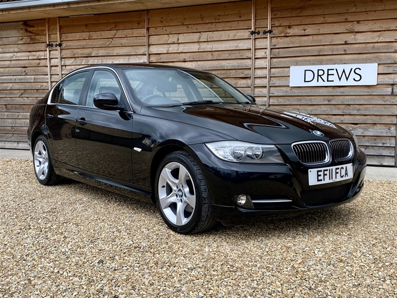 Used BMW 320d EXCLUSIVE EDITION 2.0d Black Leather Seats £130 Tax in Berkshire