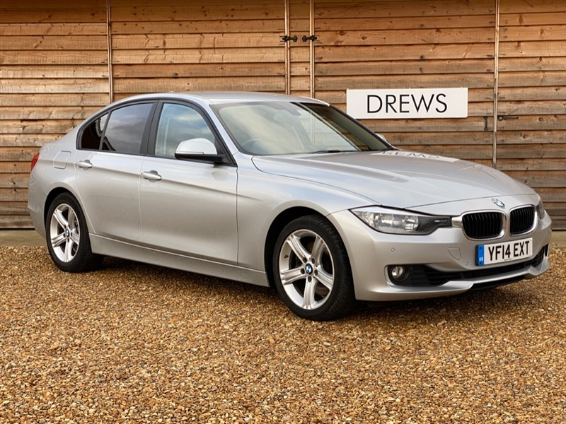 Used BMW 325d SE 2.0d Automatic Sat Nav Heated Leather Low Tax 66MPG in Berkshire
