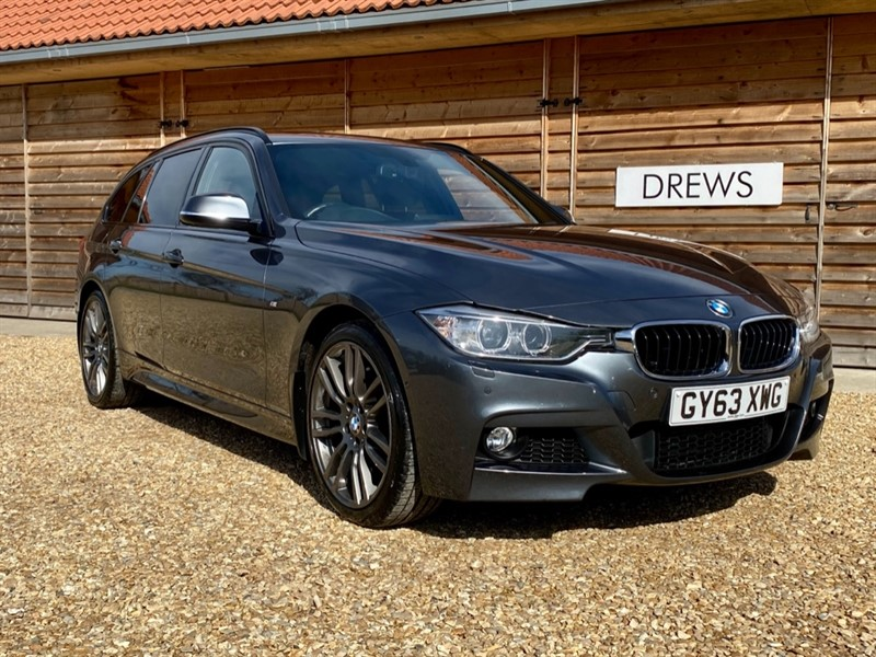 Used BMW 330d 3.0d XDRIVE M SPORT TOURING £8300 Factory Options in Berkshire