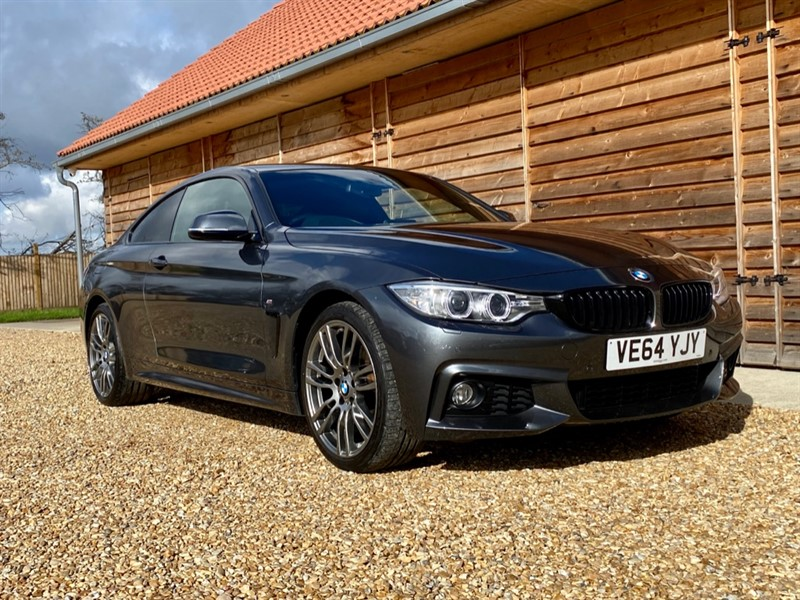 Used BMW 420d 2.0 XDRIVE M SPORT Sat Nav Leather Bluetooth in Berkshire