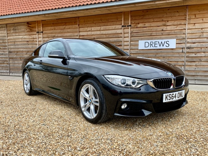 Used BMW 420i 2.0 Petrol XDrive M Sport Auto £3800 Factory Options in Berkshire
