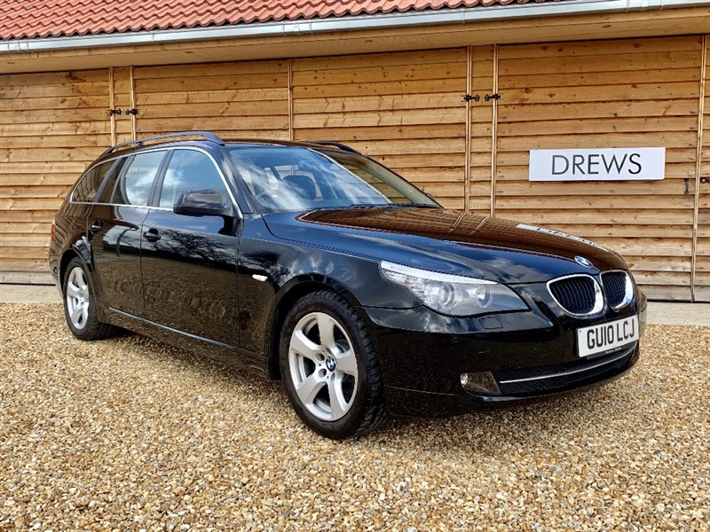 Used BMW 520d SE BUSINESS EDITION TOURING Sat Nav Leather F&R Parktronic in Berkshire