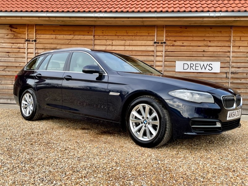 Used BMW 520d 2.0d SE TOURING £30 Tax Sat Nav and Leather Trim in Berkshire