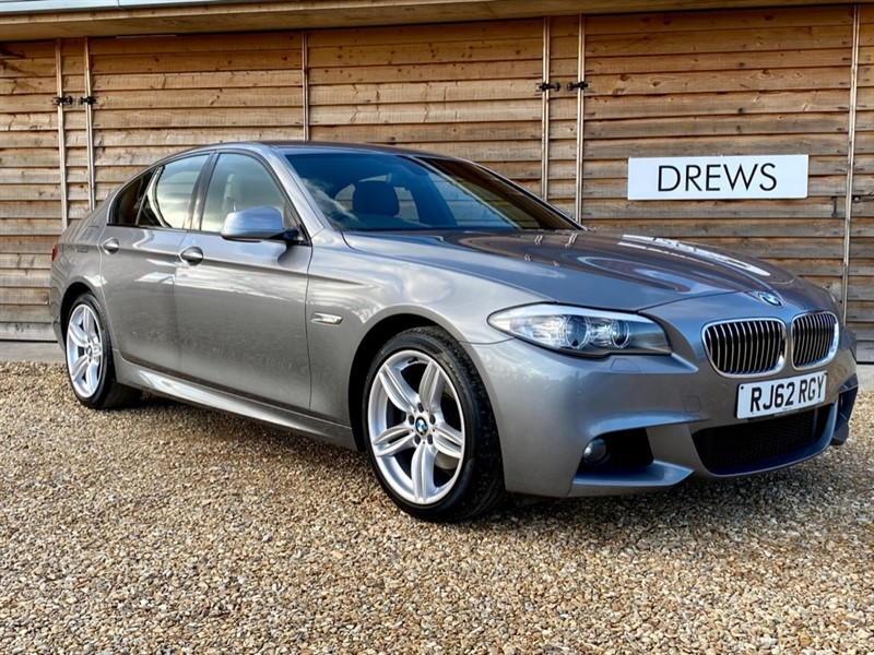 Used BMW 520d M SPORT Auto One Owner Full BMW Service History in Berkshire