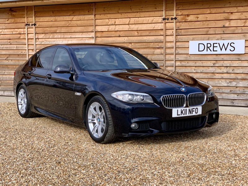 Used BMW 520d 2.0 M SPORT Auto FSH Leather Trim in Berkshire