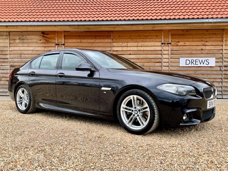 Used BMW 520d 2.0d M SPORT Sat Nav Heated Seats FBMWSH £125 Road Tax in Berkshire